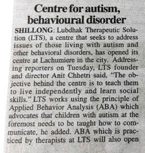 ABA therapy in Shillong